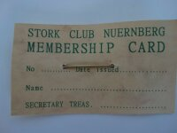 Women Army Corps Needle of Honor 1945 Stork Club Nürnberg WAC US Army WK2 WWII R