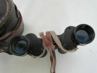 WW2 Fernglas 6x30 Strichplatte Ledertasche Army Sight Leathercase Binocular WK2