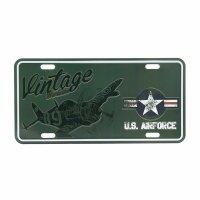 License Plate WK2 US Army Vintage Series Airforce Kokarde...