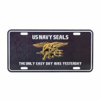 License Plate WWII US Army Navy Seals Insignia The only...