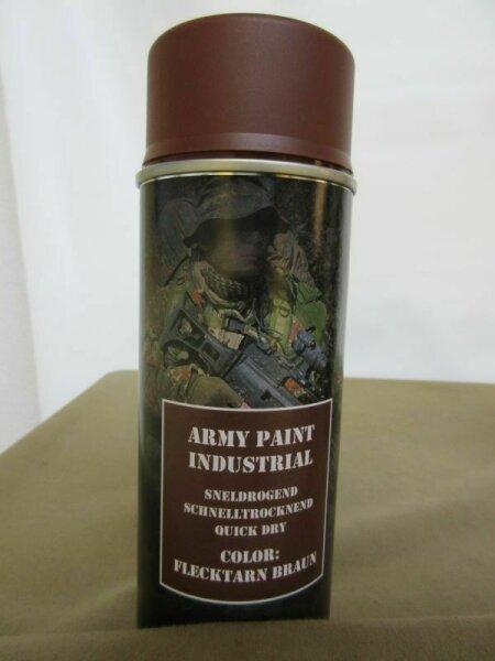 400ml (1L-16,25€) BW NATO Flecktarn Braun Brown Stumpfmatt Spraydose Bundeswehr