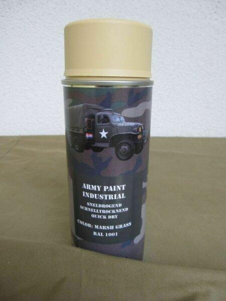 400ml (1L-16,25€) US Army Marsh Green RAL1001 Hummer US Car Oldtimer Spraydose