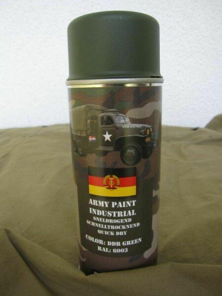 400ml (1L-16,25€) Wehrmacht Farbe Ausrüstung Stahlhelm DDR Green RAL6003 WK2 WH