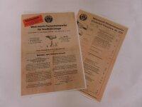 Notek Wehrmacht Tarnscheinwerfer Betriebsvorschrift WH...