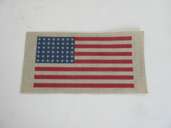 Blood Chit Patch Flagge 48 Stars US Army Armbinde WK2 WWII Brassard Jacket A2 G1