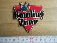 Bowling Zone Patch Rockn Roll Bowl Pins Rockabilly Nose...