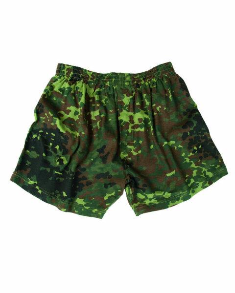 Camouflage Boxer Shorts BW Flecktarn Bundeswehr Erbsentarn Camouflage Gr XXL