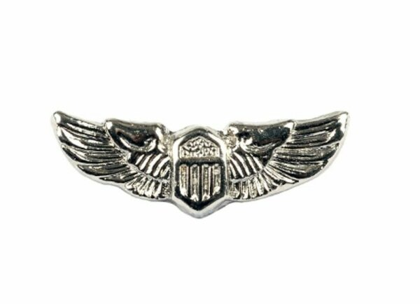 US Army Airforce Pilot Wings Insignia Col Badge USMC Navy Marines WK2 WKII WW2
