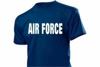 """Air Force"" T-Shirt US Army Militär Gr S-XXL Training Navy Marines Pilots USMC"