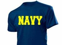"""""""NAVY"""" T-Shirt US Army Airforce Militär Gr 3-5XXL Training USMC Marines Pilots"""