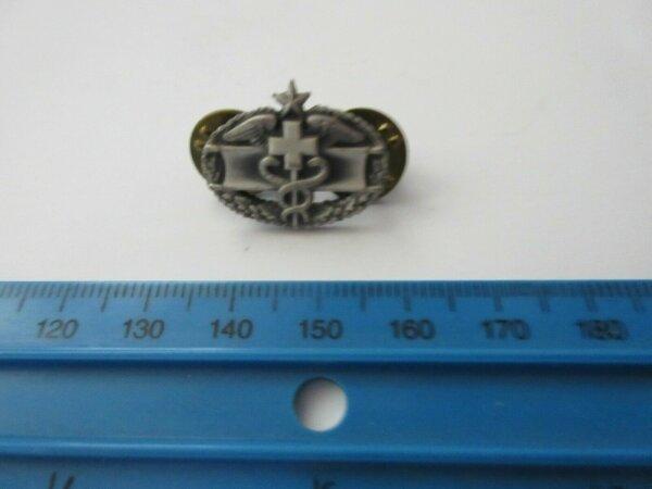 1 Original Army Medical Corps Service 2nd Award Qualification Collar Badge USMC