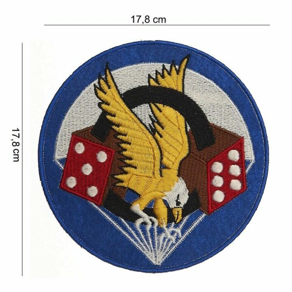 506th Infantry Division 101st Airborne Parachute Reg Insignia Patch US Army Big!