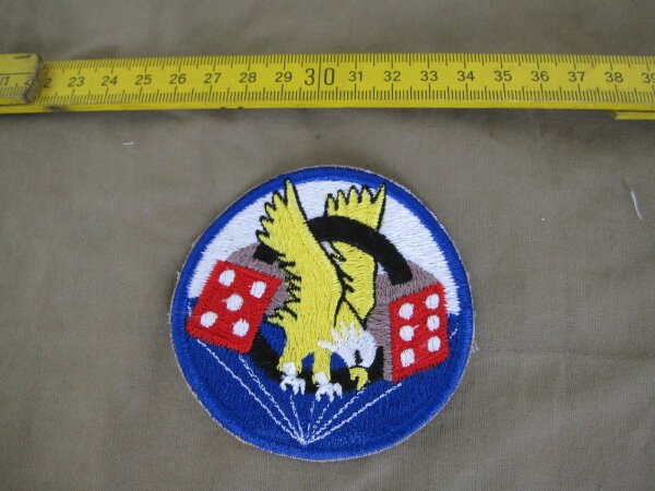 506th Infantry Division 101st Airborne Parachute Reg Insignia Patch US Army WW2