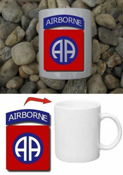 82nd Airborne Division Kaffee Tasse Mug US Army Paratrooper Navy Seals WWII