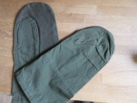 Army Handschuhe Gloves mit Trigger Finger One Size Gunner Sniper Shooter Nam