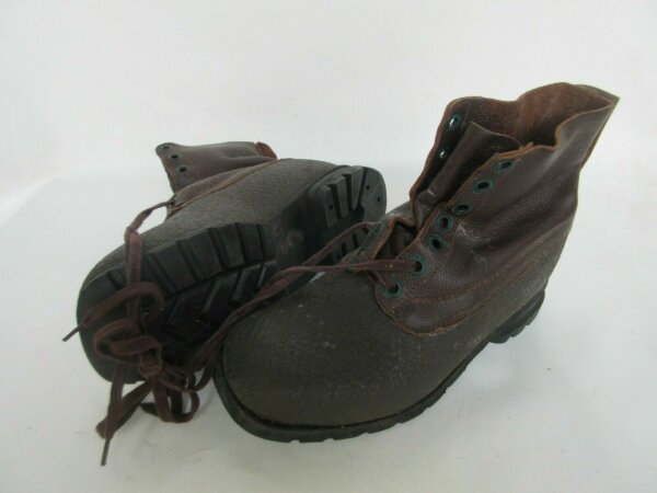 Army Service Boots Schnürstiefel True Vintage Leder Stiefel Original Heritage 85