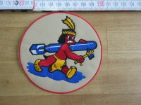 Bomb Squadron 8th AAF Indian Infantry Patch Airforce Pilots A2 Jacket US Army