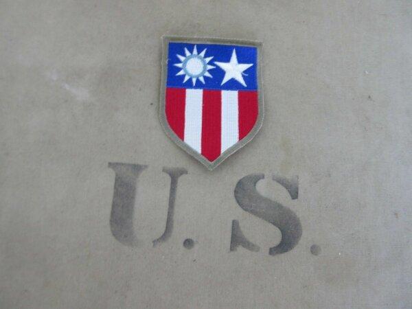 CBI China Burma India Patch US Abzeichen Flightjacket US Army Vietnam WK2 WWII