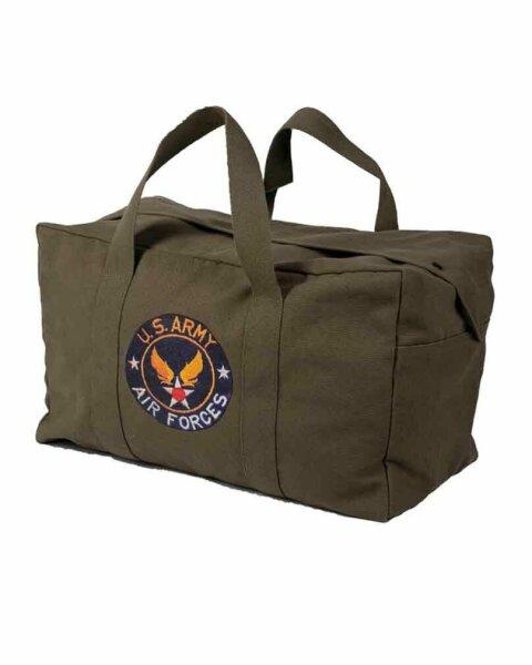 Fliegertasche Air Forces Insignia US Army USAAF Cargo Bag  Canvas Kampftasche