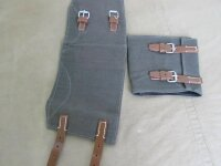 Gamaschen Segeltuch Uniform Feldhose DAK Gaitors Leggings Wehrmacht WH WW2 LW OD