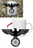 Gebirgsjäger Edelweiss Reichsadler Kaffee Becher...