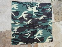 Halstuch Bandana Biker Headwrap Woodland Camo US Army 3-color Scarf Head Wrap #2