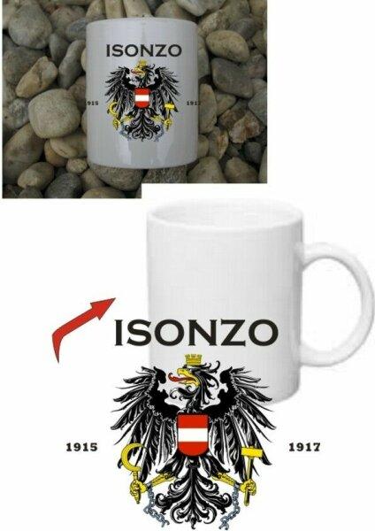 Isonzo Front Austria KuK Kaffee Becher Tasse Monarchie Kaiserreich WWI WK1