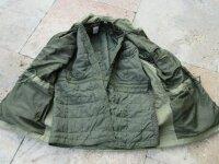 Ital. Feldjacke Feldbluse Parka m Futter Jahre Armee Jacke Army Jacket Liner G52
