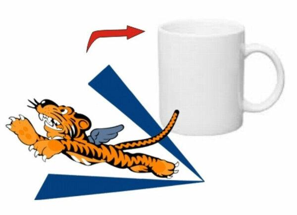 Kaffee Tasse Flying Tigers USMC US Army Navy Seals Marines Rockabilly WK2 WWII