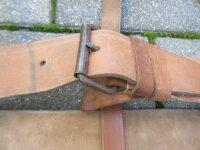 Koppel Lederkoppel Koppeltragegestell Belt Suspender Army Worker Handwerk 115cm