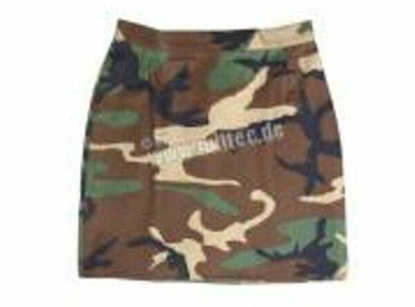 Minirock US Army Rock Women Skirt T/C 3-color Woodland Camo 36