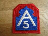 """Original Patch """"US 5th Arm"""" Division..."""