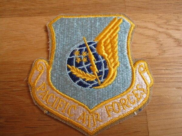 "Original Patch ""US Pacific Airforces"" Aufnäher Abzeichen USA"