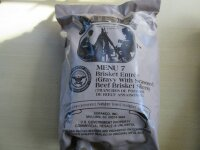Original US MRE 37 MENÜS MEAL READY TO EAT FOOD BW EPA Army NOTRATION Ration Nam
