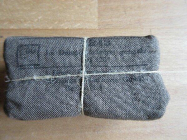 Original Verbandspäckchen 1943 Depot  WK2 WWII WH First Aid Dressing Kit Deko!!