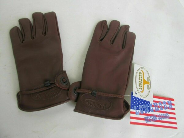 Rodeo Gloves Longhorn Lederhandschuhe Chopper Handschuhe Westernreiten Biker Rod