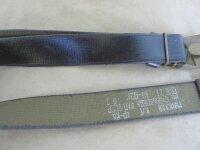 Russ. Dienst Koppel Braun Messingschloß Webbing 45mm Belt Lederkoppel WH WK2