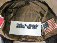 Stencil f Flightjacket Fliegerjacke A2 G1 US Army USMC...