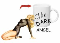 The Dark Angel Sexy Pin-up Kaffee Tasse USMC Army Navy...