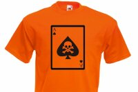 T-Shirt Deathcard Vietnam US Army 101st Airborne Gr S-XXL WH WK2 Ace of Spades