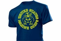 United States Marine Corps T-Shirt Bulldogge US Army 3-5XL Drill Instructor USMC