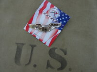 US Army Airforce Pilot Wings  Pin USAF USAAF Marines...