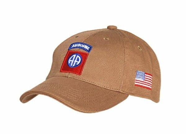 US Army Baseball Cap Sand 82nd Airborne AA All American USMC Marines Vietnam