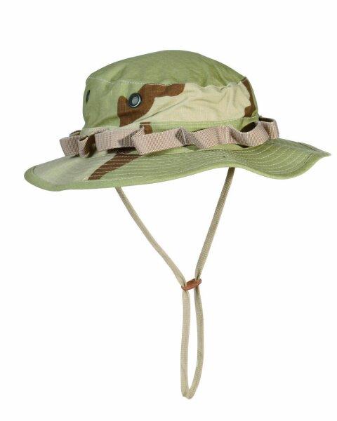 US Army Camo GI Dschungelhut R/S Boonie Hat Desert Gr L Fischerhut Anglerhut