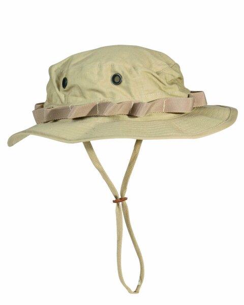 US Army Camo GI Dschungelhut R/S Boonie Hat Khaki Gr XXL Fischerhut Anglermütze