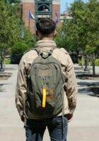 US Army Canvas Vintage Flight Bag Rucksack Backpack Para Traveller Weekender BR