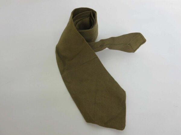 US Army Krawatte Mustard Feldhemd Tie Fieldshirt Gabardine Officer M41 WKII WW2