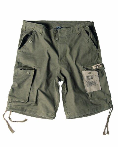 US Army M65 Shorts Oliv Prewashed Paratrooper Gr 3XL - 58 Camo Shorts Pants