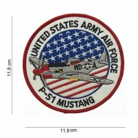 US Army Mighty Eighth 8th USAAF P-51 Mustang Jersey Jerk Nose Art Patch WK2 #1