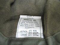 US Army Original Winter Field Cap OD MQ1 MINT Alpaca Wintermütze Reforger Korea